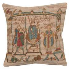 Bayeux Cathedral French Tapestry Cushion