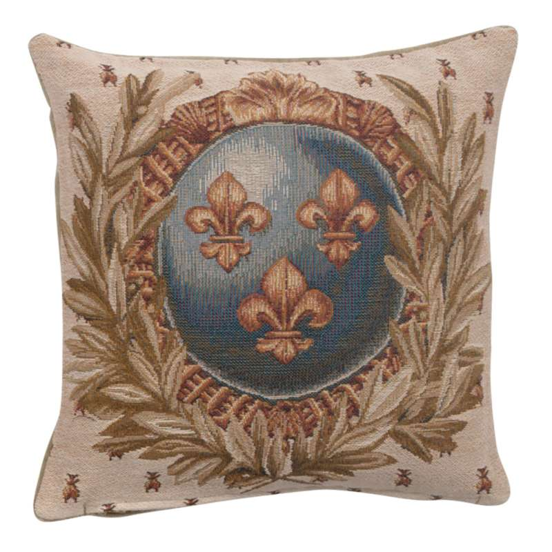 Empire Lys Flower French Tapestry Cushion