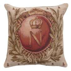 Empire Napoleon 1 French Tapestry Cushion
