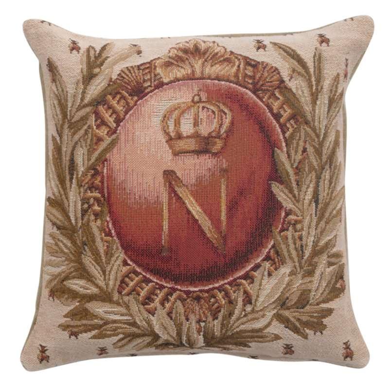 Empire Napoleon 1 French Tapestry Cushion