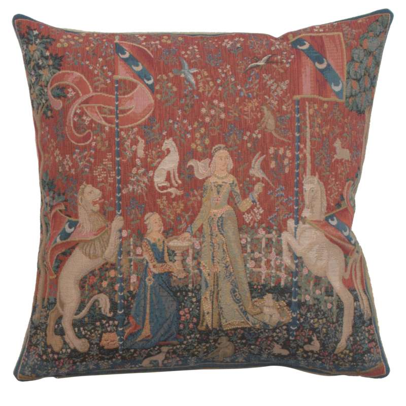 The Taste 1 Small French Tapestry Cushion