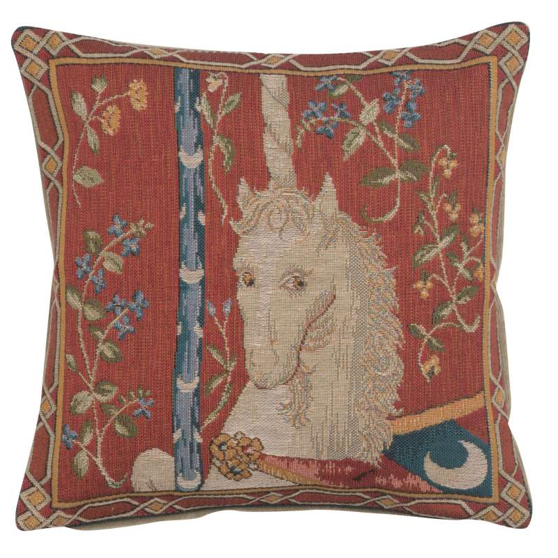 The Unicorn 1 French Tapestry Cushion