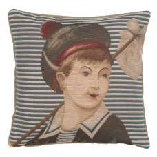 Ship's Boy French Tapestry Cushion