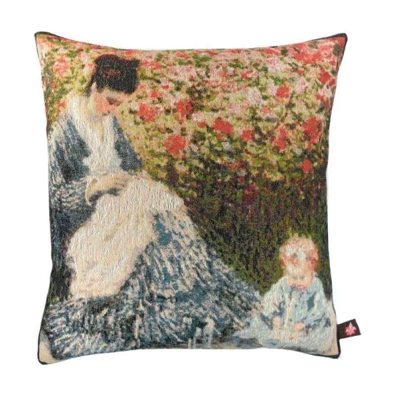 Camille et lenfant French Tapestry Cushion