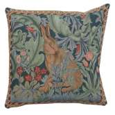 Rabbit as William Morris 1 French Tapestry Cushion