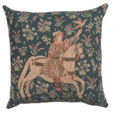 The Rider 1 Decorative Tapestry Pillow