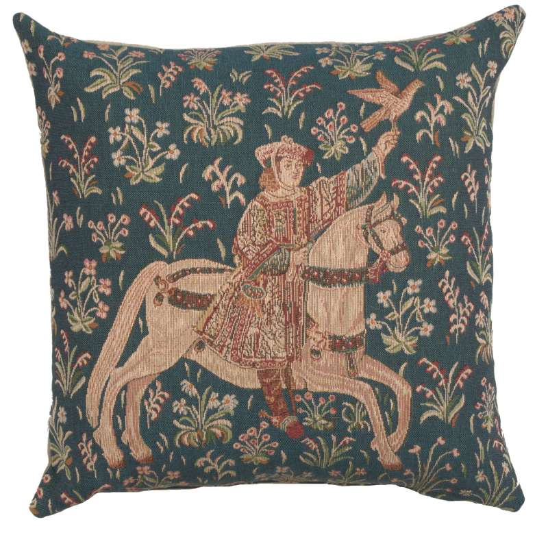 The Rider 1 French Tapestry Cushion