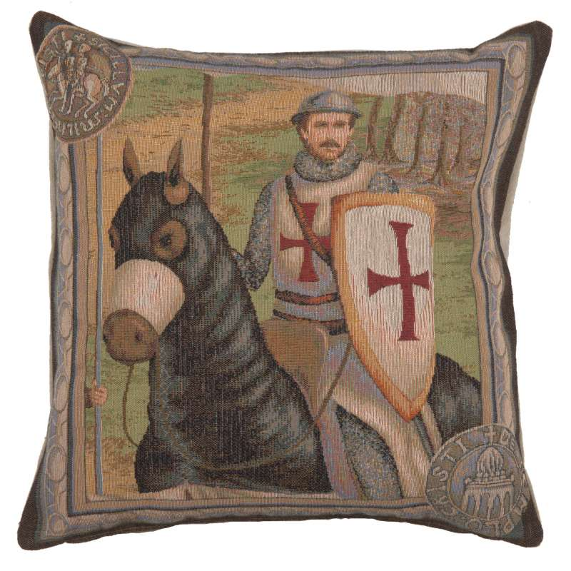 The Rider 2 Decorative Tapestry Pillow