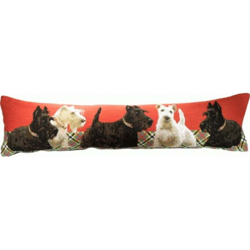 Scottish Dogs Bolster Cushion Bolster