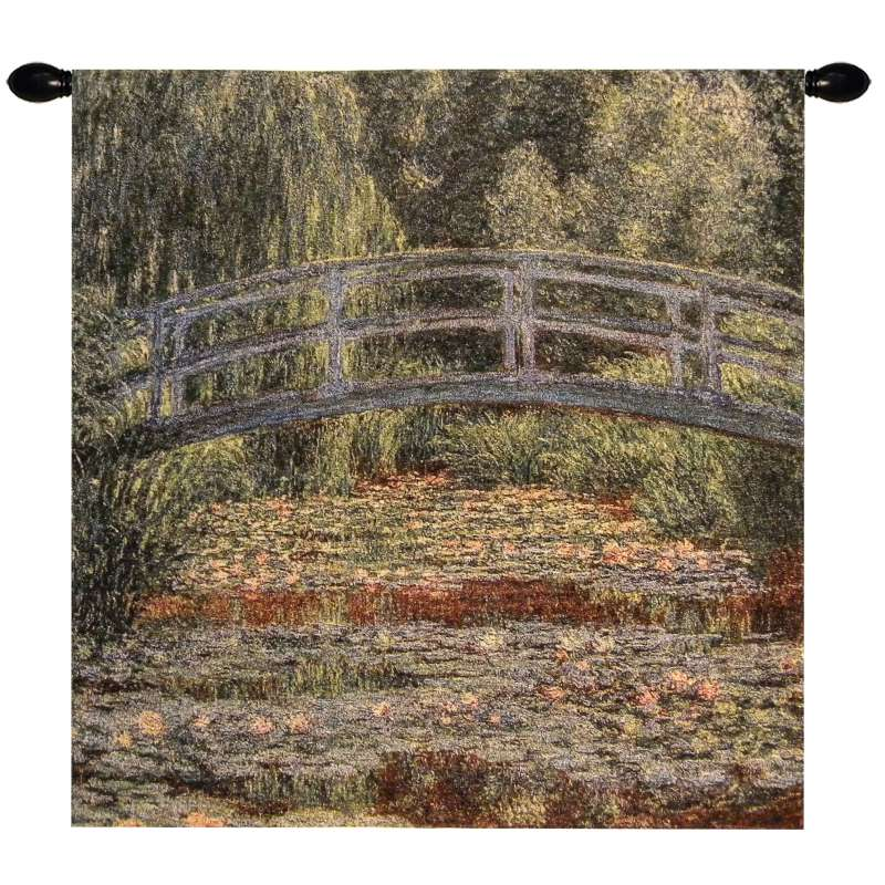 Giverny Bridge Tapestry Wall Art