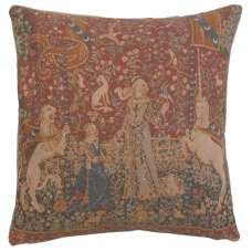 Unicorn The Taste French Tapestry Cushion
