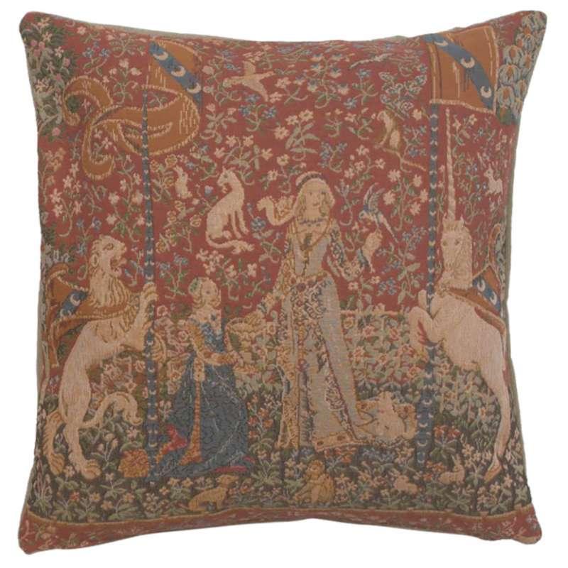 Unicorn The Taste Decorative Tapestry Pillow