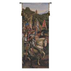 Knights Of Christ European Tapestry