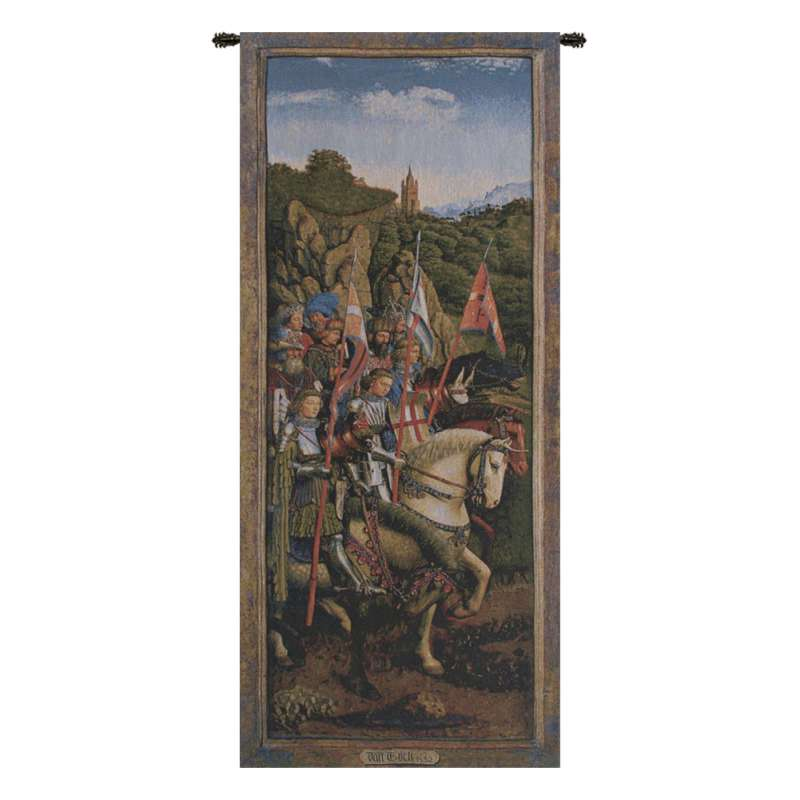 Knights of Christ I European Tapestry