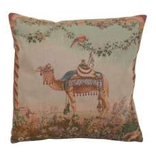 Camel French Tapestry Cushion