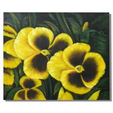 Yellow Peony Canvas Oil Painting