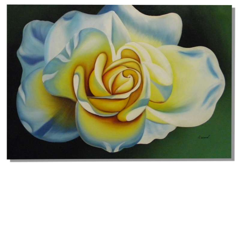 The Rose Canvas Oil Painting