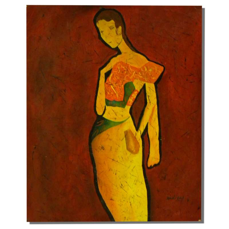 Sad Woman Canvas Oil Painting