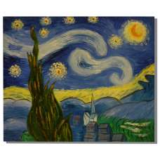 Starry Night I Canvas Oil Painting