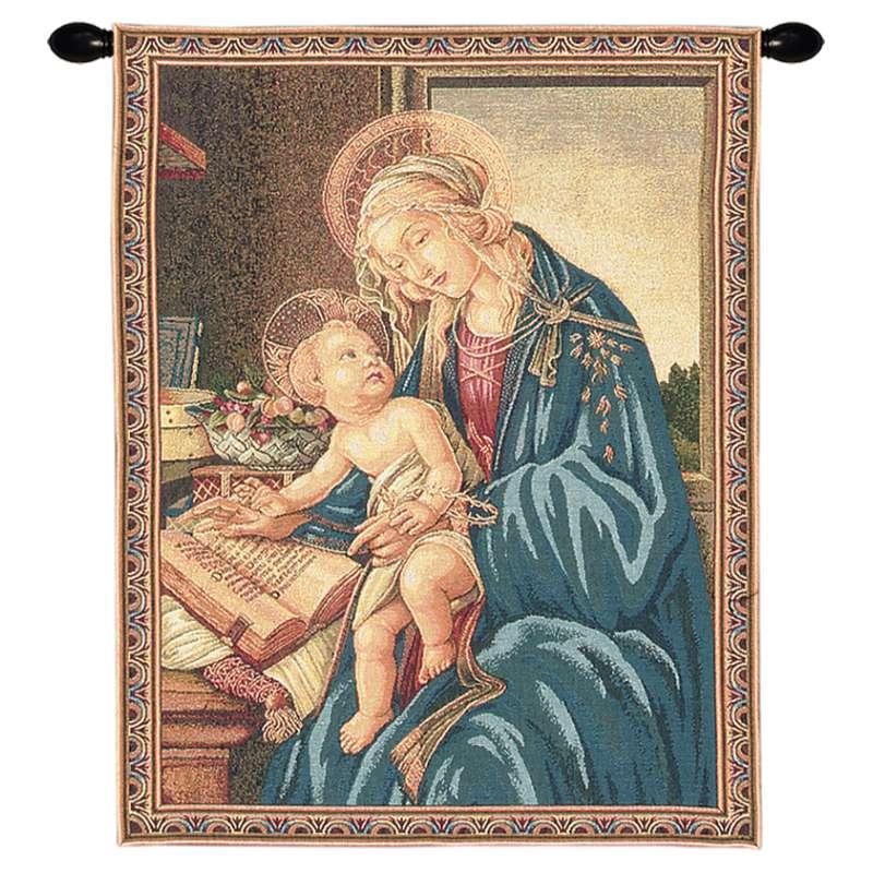 Madonna Del Libro I European Tapestry