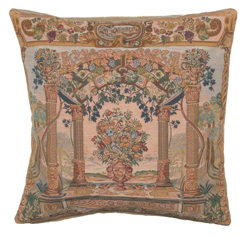 Terrasse with Columns French Tapestry Cushion