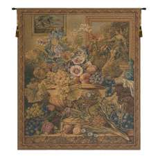 Bouquet and Frames European Tapestry