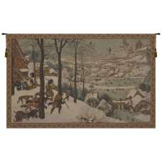 Hunters in the Snow European Tapestry