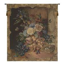 Frame of Flowers I European Tapestry