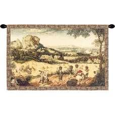 The Hay Harvest I European Tapestry