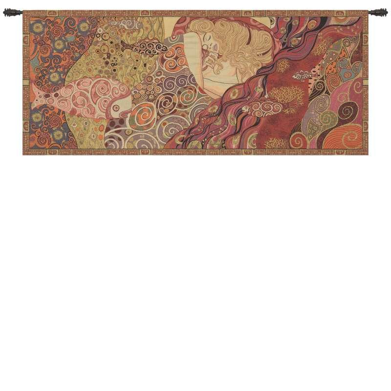 Danae by Klimt European Tapestry Wall Hanging