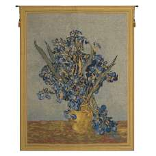 Vase Iris by Van Gogh European Tapestry