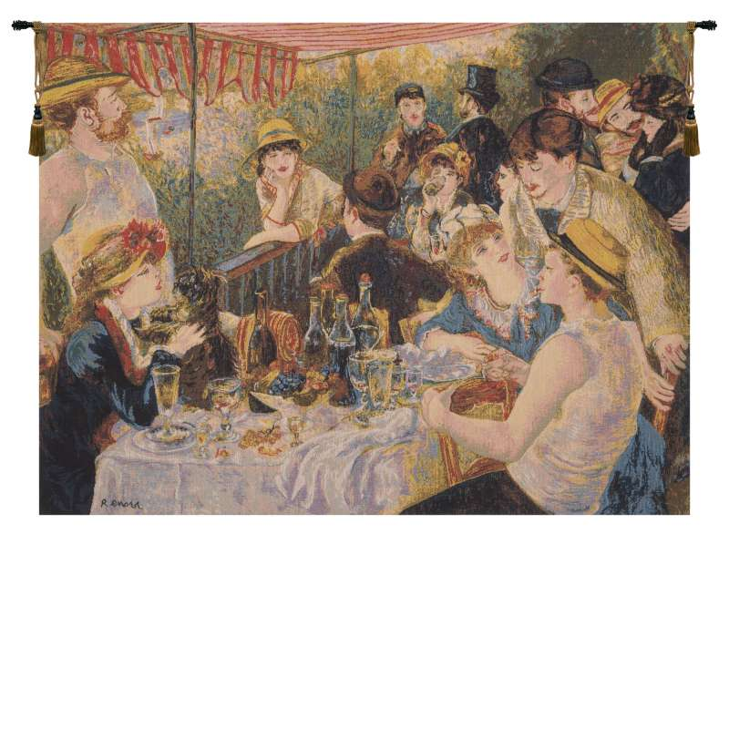 Luncheon Of The Boating Party by Renoir European Tapestry