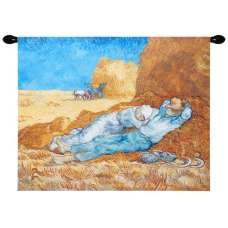 Siesta by Van Gogh European Tapestry