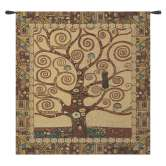 Stoclet Tree by Klimt European Tapestry