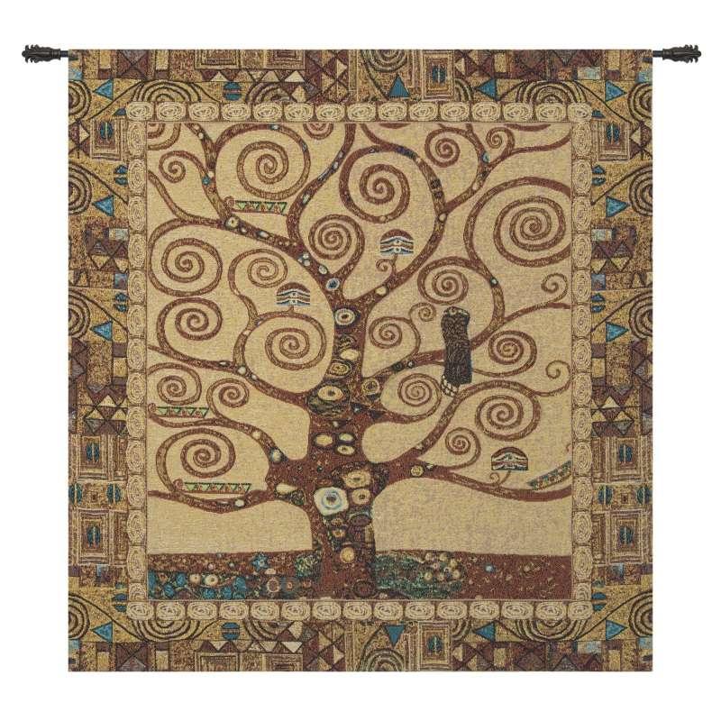 Stoclet Tree by Klimt European Tapestry