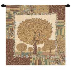 New Tree of Life by Klimt European Tapestry