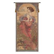 Mucha Summer I European Tapestry