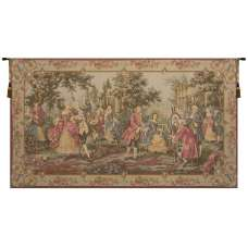 Society in the Park Right European Tapestry