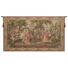 Society in the Park Left European Tapestry