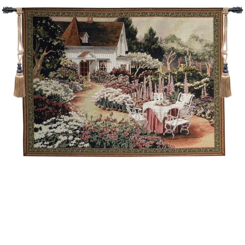 A Sunday Afternoon Tapestry Wall Hanging