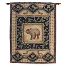 Bear Lodge III Tapestry Wall Hanging