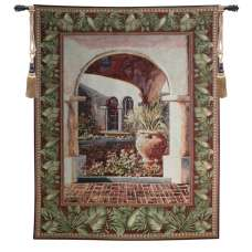 Glowing Archway Tapestry Wall Art