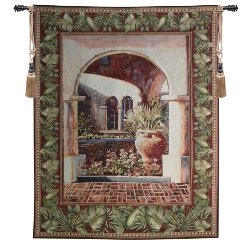 Glowing Archway Tapestry Wall Hanging