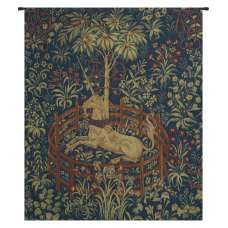 La Licorne Captive III French Tapestry Wall Hanging