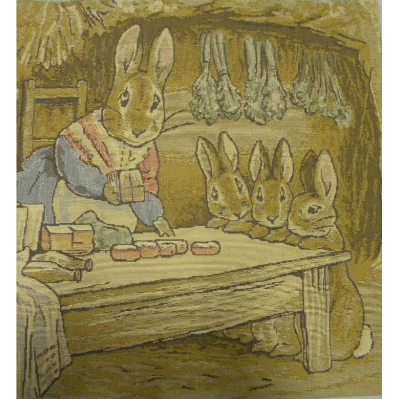 Mrs. Rabbit Beatrix Potter I European Cushion Cover