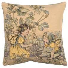 Black Medick Fairy Cicely Mary Barker I European Cushion Cover