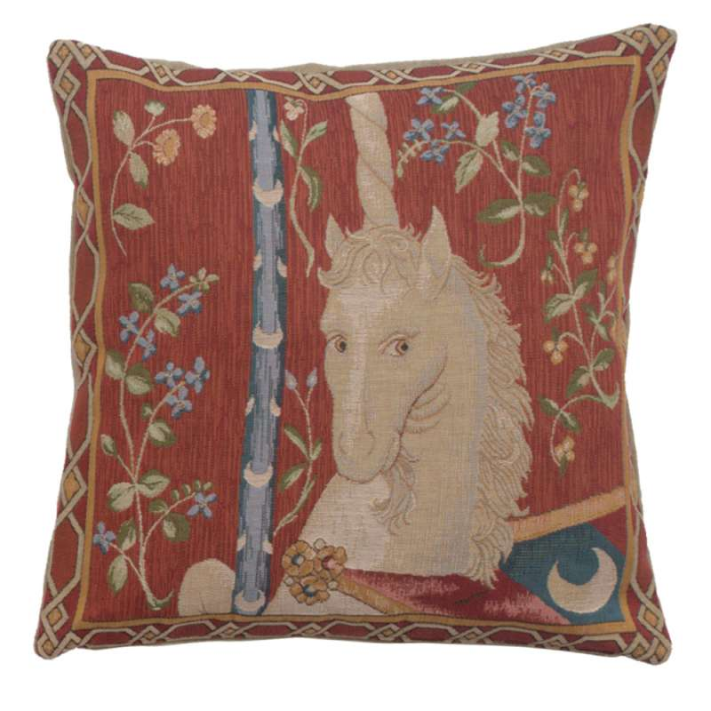 La Licorne French Tapestry Cushion