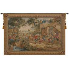 LArbre De Mai French Tapestry Wall Hanging