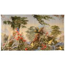 Paysage Merveilleux French Tapestry Wall Hanging