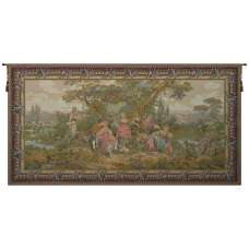 Les Amours Pastorales French Tapestry Wall Hanging